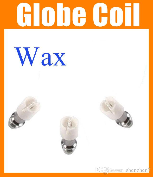 Ceramic Glass Globe Wax Vaporizer replacement core coil GLASS OIL DOME GLOBE RIG SET Replacement VAPOR GLOBE ATOMIZER core dry herb FJ097