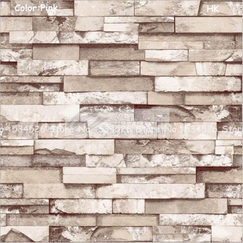 Papel tapiz ladrillo vinil decorativo tipo papel tapiz - Papel pared ladrillo ...