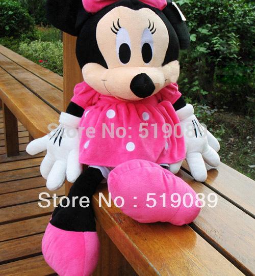 Christmas Minnie Mouse Plush.2019 100cm Large Minnie Mouse Stuffed Animal Toys 1m Minnie