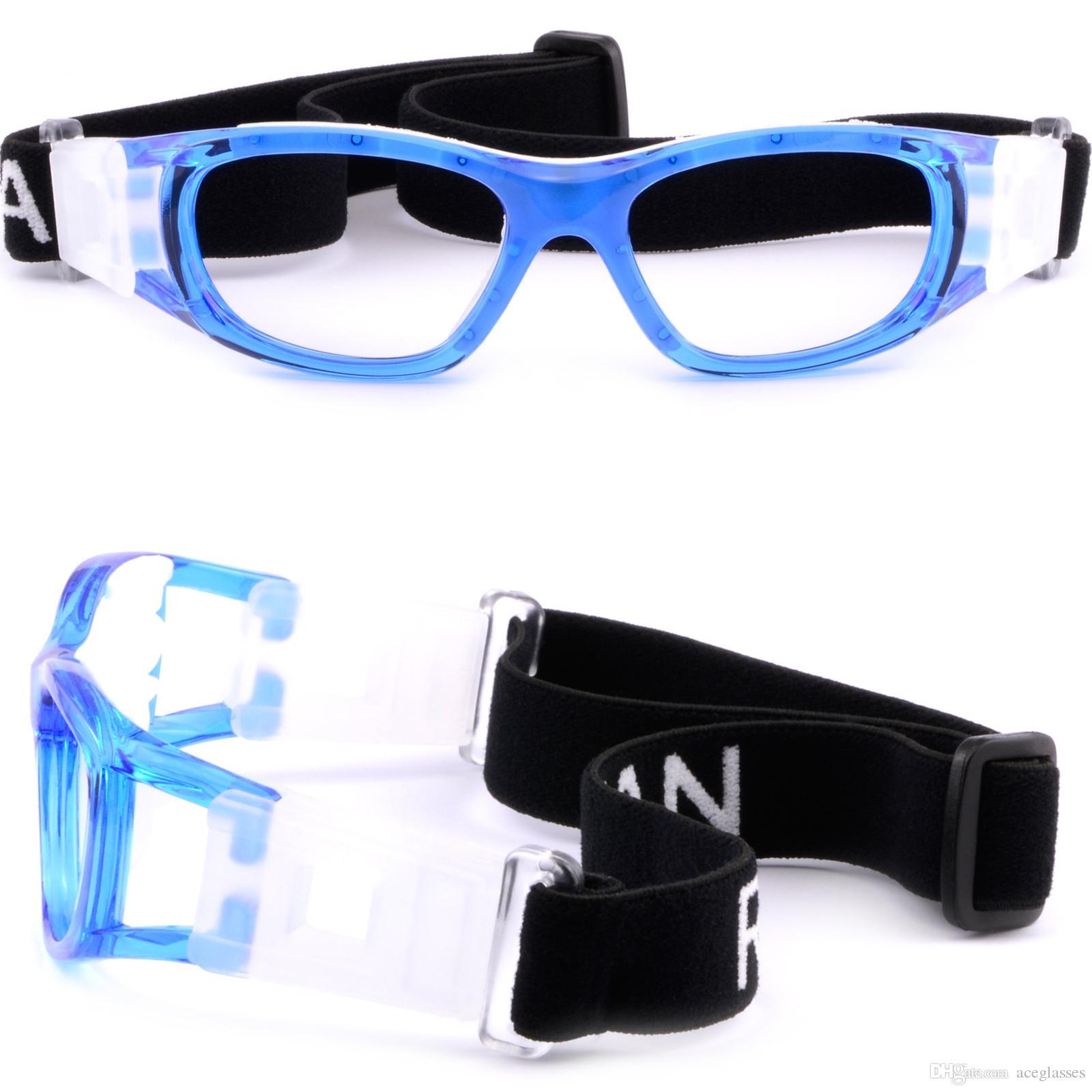 Gafas protectoras para niños Gafas graduadas seguras Gafas envueltas en azul