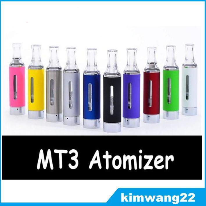 Evod MT3 Atomizer clearomizer ego elektronik sigara Evod atomizer e sigara kitleri için Çeşitli Renkler DHL Hızlı Ücretsiz