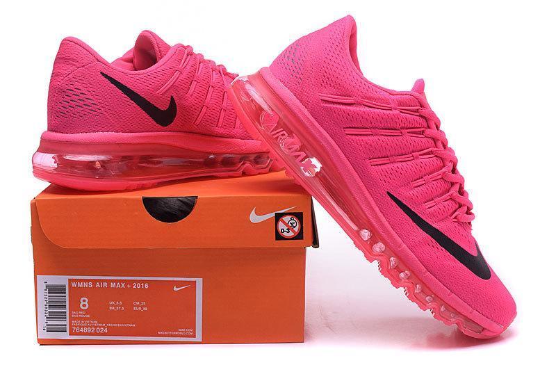 timeless design a3f82 ed76e womens nike air max 2016 all pink