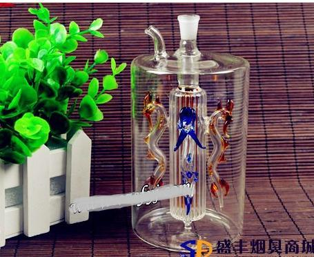 送料無料Wholesale Hookah  -  Hookah Glass Pot [4 Long Zhu、カラーランダム配送