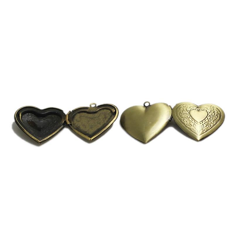 Beadsnice сердце фото очарование персонализированные рамка кулон цветок гравировка медальон День матери подарок семейный медальон ID 3354