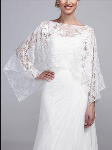 New Arrival White Wrap Jacket For Beauty Bridal Dress 2021 Wedding Jacket Wedding Wraps Custom Made