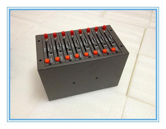 Dispositivo de serviço SMS Gsm modem pool 8 portas Q2403 900/1800 MHZ SMSMMS Suporte imei change