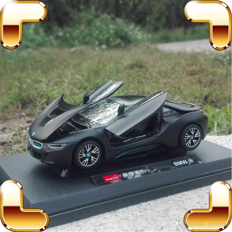 جديد وصول هدية فكرة 8 1/24 نموذج معدني سيارة رياضية تصميم دييكاست سبيكة منفتح الأبواب منزل الديكور لعب سيارة مجموعة