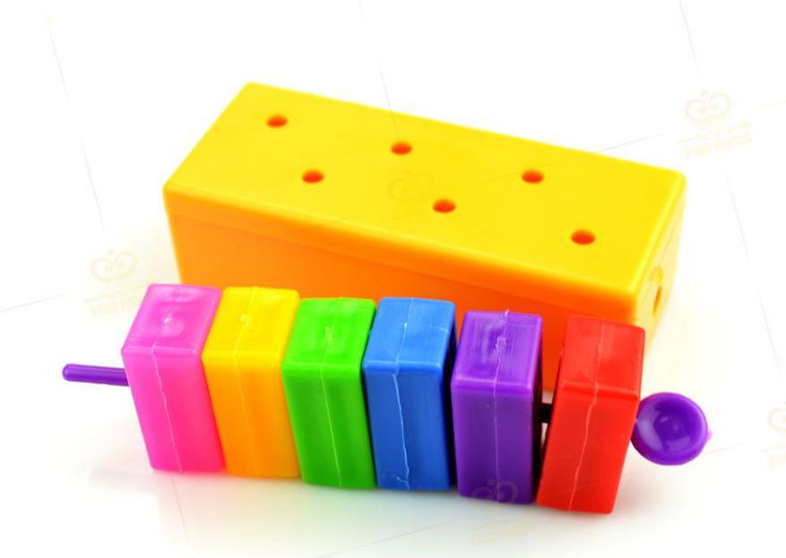 Color Block Escape 2 Blocks Magically Escape Magic Trick Puzzle Toy Kid Gift