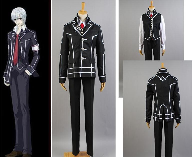 Vampire Knight Day Class Uniform Zero Kiryuu Cosplay Costume 2018 From Mangod 6935