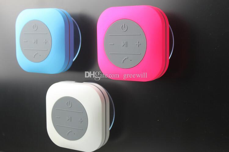 ... Beweglicher Wasserdichter Badezimmer Dusche Drahtloser Bluetooth  Lautsprecher Freihändiger Empfangener Anruf Musik