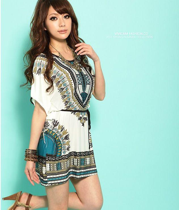 새로운 여름 플러스 크기 드레스 여성 의류 꽃 박쥐 boho 의류 패션 보헤미안 드레스 여성 캐주얼 드레스 한국 드레스