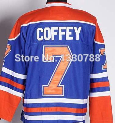 95ac01849 ... Edmonton Oilers 7 Paul Coffey Blue Home CCM Throwback Jersey ...