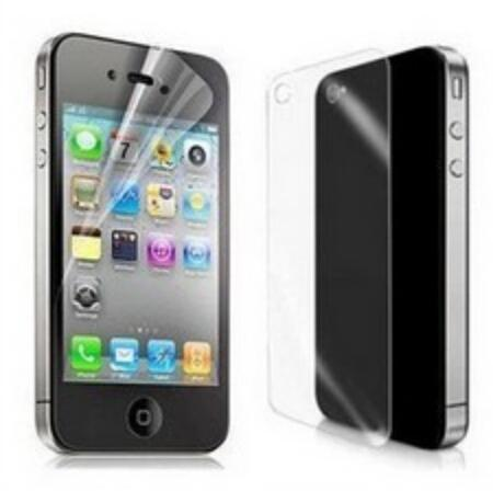 10X New Anti Glare CLEAR LCD Screen Protector Guard Cover Film For Apple for  iphone 4 ab5ced9709