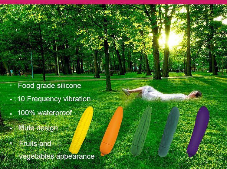 Premier vibrateur de légumes au monde Cinq types de style, certification USAFDA en silicone de qualité alimentaire