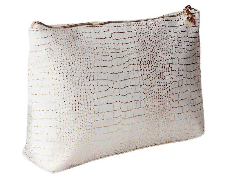 New fashion handbags beauty women travel cosmetics bag handbags PU large capacity beautiful Gold pattern alligator Storage bag