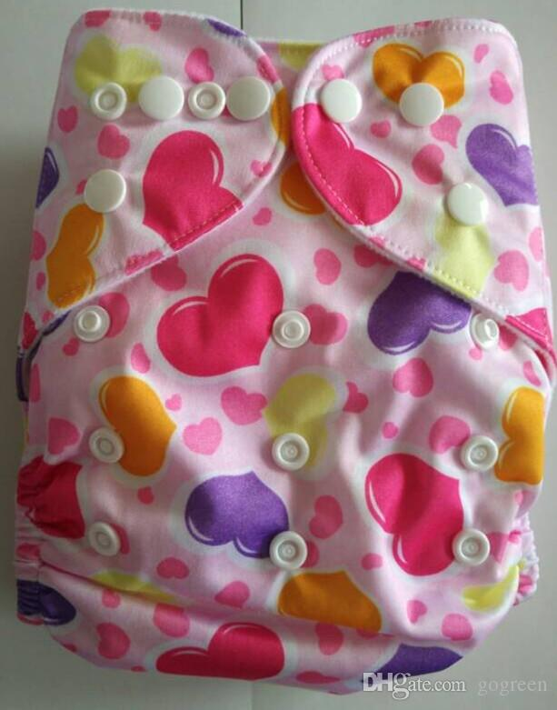For Xmas 2015 Naughty Baby One Size Washable Reusable Cloth Diaper Covers Baby Diaper Colorful Bags baby cloth Nappy diaper 10pcs/lot