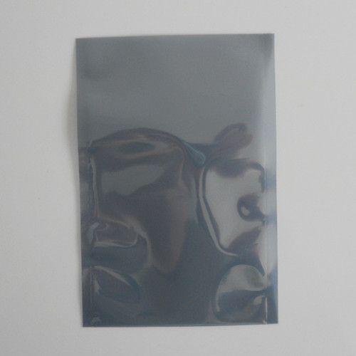 """Çanta Antistatik Paketi Poşetleri Ambalaj 10x15cm (3.9 """"x5.9"""") Açık Üst Anti-Statik Koruyucu Plastik Paketi Ambalaj Torbaları ESD Anti Statik"""