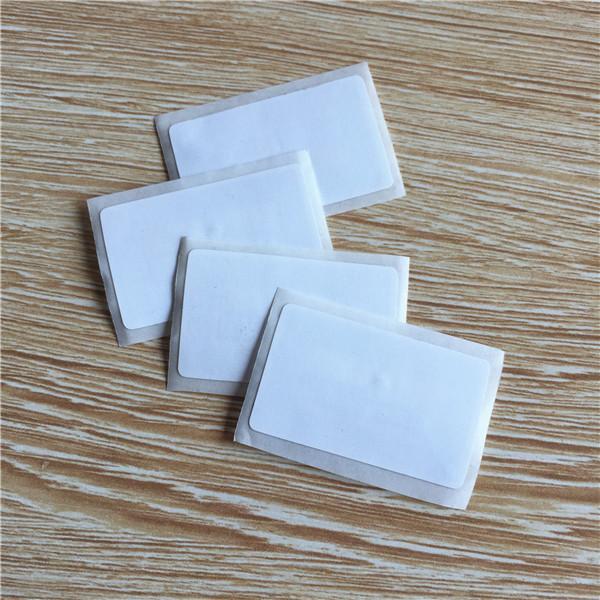Etiqueta RFID 13.56MHZ MIFARE Classic® 1K adhesivo 41x26mm rectangular nfc 1k etiqueta 13.56MHZ para android -50pcs
