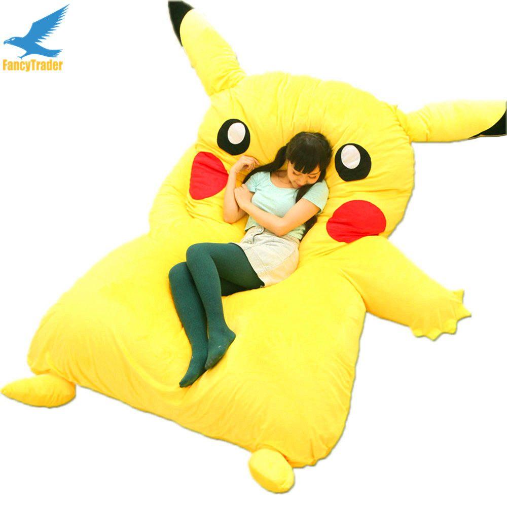 Acquista Fancytrader Japan Anime Peluche Gigante Farcito Pikachu