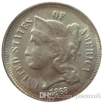1868 3 센트 니켈 복사 동전 FREE SHIPPING