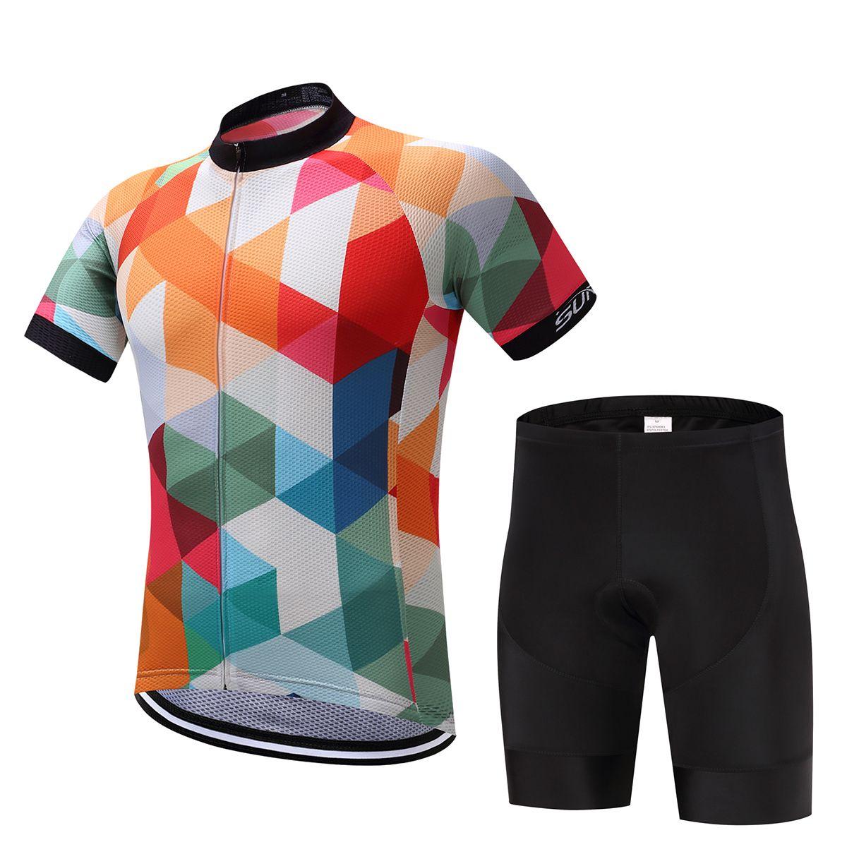 Maglia da ciclismo Abbigliamento da bici Mtb Abbigliamento da bici Abbigliamento corto Maglia da ciclista Maillot Roupa Ropa De Ciclismo Hombre Verano
