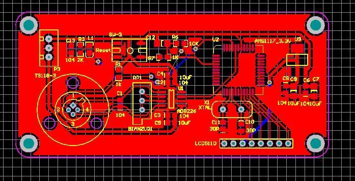 적외선 온도 센서 ts118-3 회로도 및 PCB 온도계 pcb ts118 온도계 ad8226 온도 센서