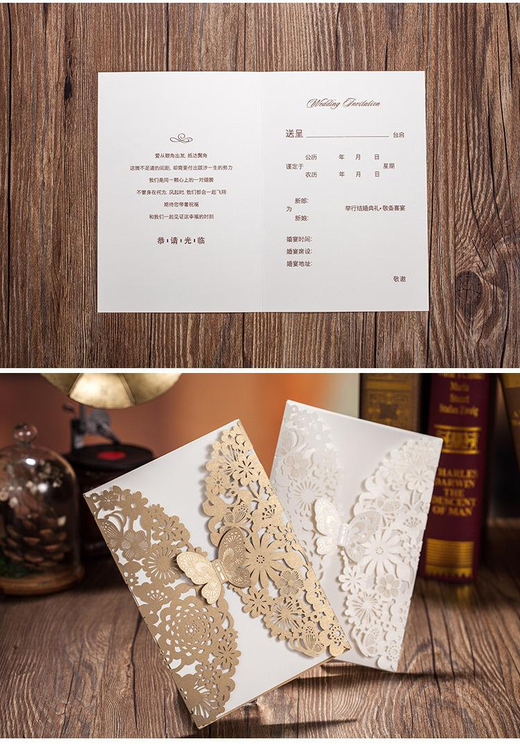 white and gold wedding invitations%0A      Customizable Hollow Crystal Lace Bow Wedding Invitations Laser Cut Wedding  Invitation Cards Supplies Printable Card Wedding Accessories
