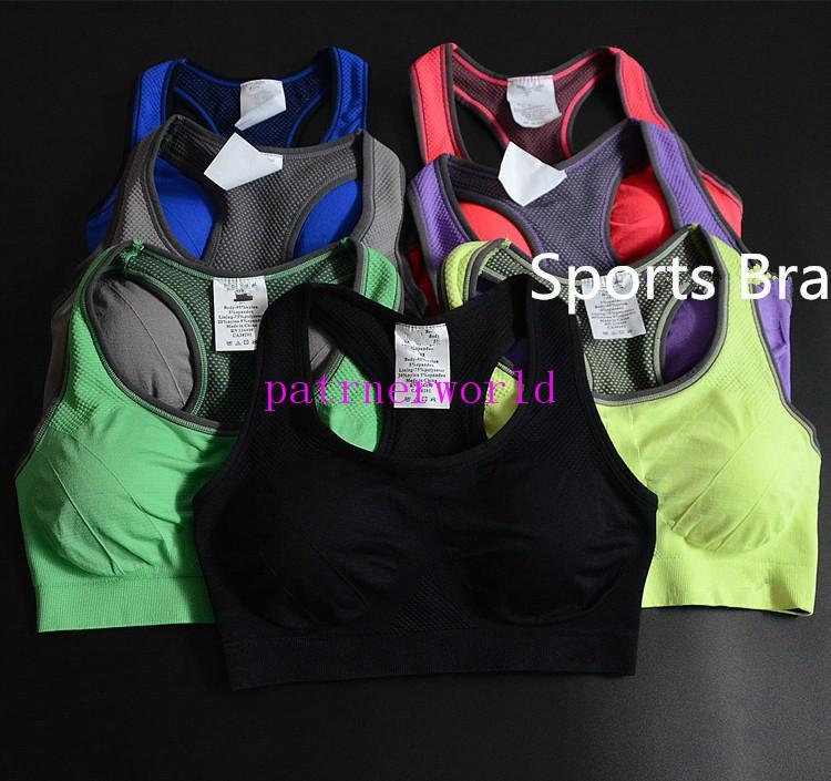 امتصاص العرق التجفيف السريع المهنية الرياضة البرازيلي الأعلى الصدرية الجري اللاسلكية تشغيل داخلية للنساء دون 60 قطعة / الوحدة الصلب