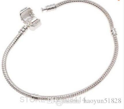 أزياء المرأة الأوروبية الفضة مطلي سوار سلسلة ثعبان سوار مع قفل برميل صالح سحر حبة كاميليا