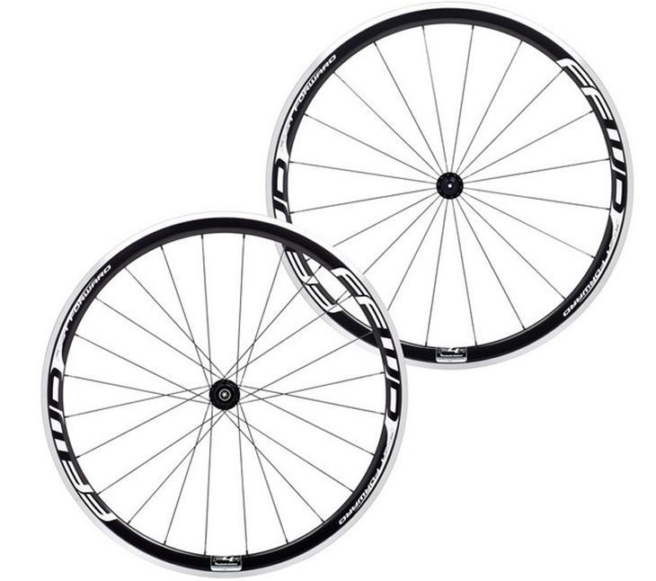 합금 브레이크 표면을 가진 2016 년 형태 도로 자전거 38mm FFWD 합금 탄소 섬유 자전거 바퀴, Powerway 허브 탄소 허브 세라믹 허브는 유효하다