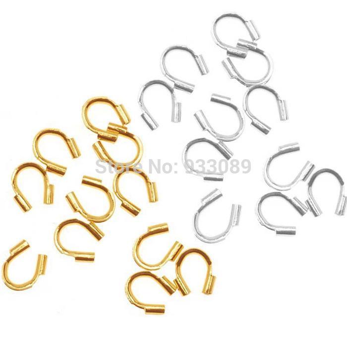 도매 금속 와이어 가드 보호자 프로텍터 루프 보석 결과 58-423 500pcs 무료 배송