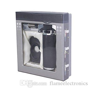 1300'c金属融解ブタントーチライター携帯用ろう付けはんだ付け調節可能なタバコの葉巻くたジェット溶接防風ジェットの炎