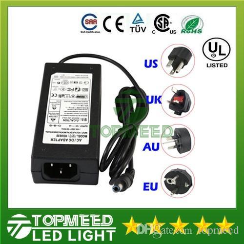 LED anahtarlama güç kaynağı 110-240 V için 12 V 2A 3A 5A 6A 7A 8A 10A 12.5A Led Şerit işık trafo adaptörü aydınlatma 101