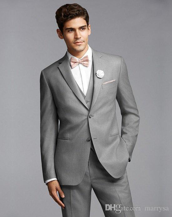 Mens Tuxedo Suits Groom Tuxedos Best Man Suit Wedding Groomsmen ...