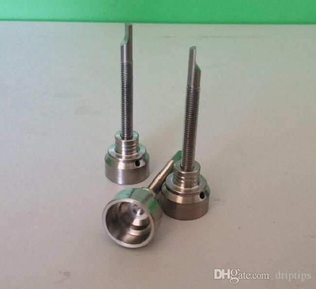 5Pcs GR2 Titanium Nail Carb Cap 18mm for Titanium Nail Dabber Wax Carving Tip