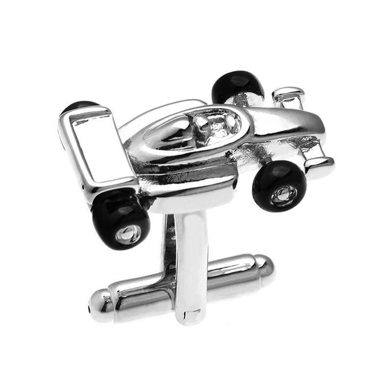 Hoge kwaliteit auto racing manchetknopen voor heren koperen manchetknoop bruiloft manchetknopen mode-sieraden Beste Xmas cadeau