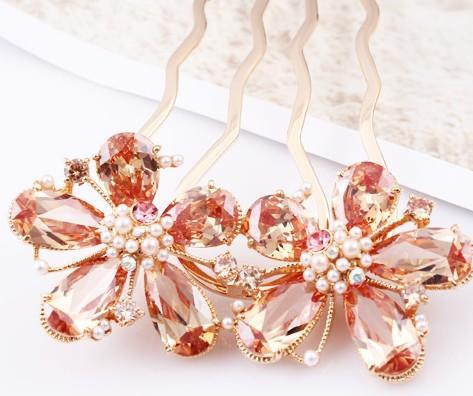 шампанское цвет Алмаз цветок леди шпилька (10.5*7.5 см) (myyhmz)