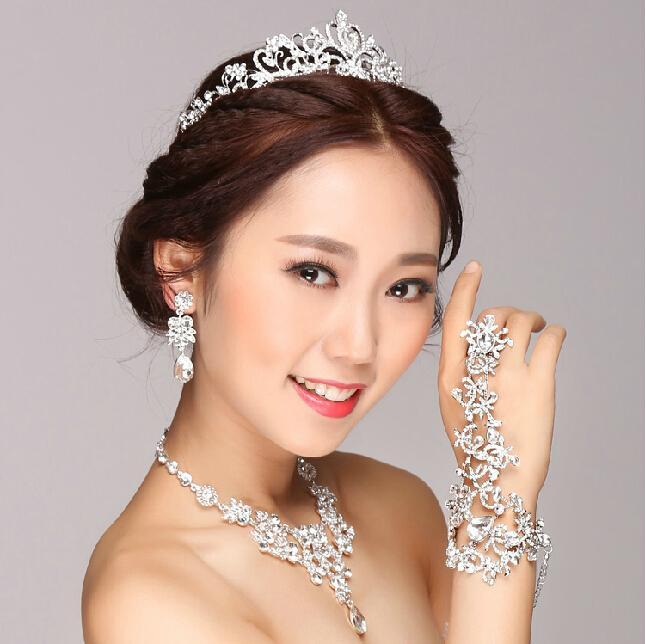 Real image sexy 2015 Bridal jewelry chain bracelets Alloy wedding accessories body Jewelry wedding jewelry free shipping