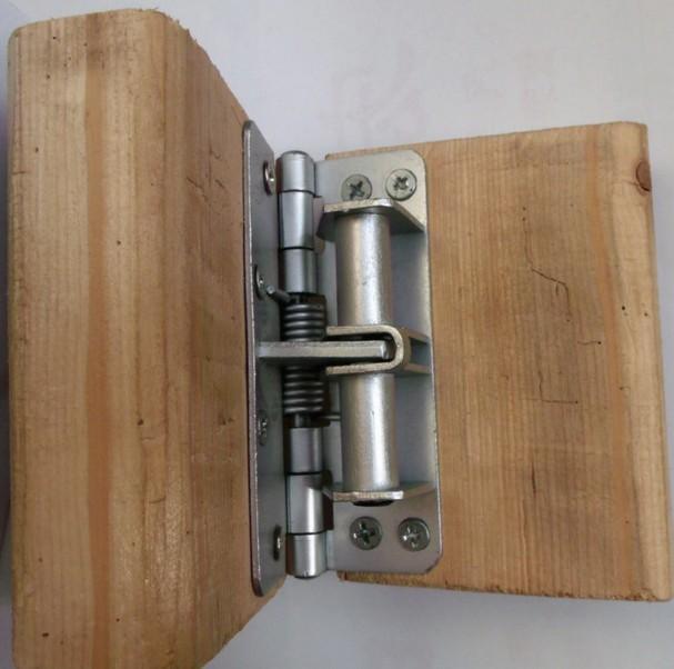 4 inch onzichtbare deurveer automatische deur sluiting gepositioneerd ijzeren deur scharnier open 90 graden vaste 100 stks   partij # 002-4