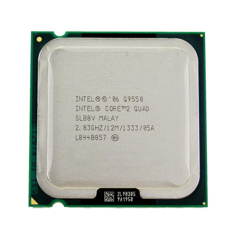 Intel Core 2 Quad Q9550 Processor 2.83GHz 12MB L2 Cache FSB 1333 Desktop LGA 775 CPU