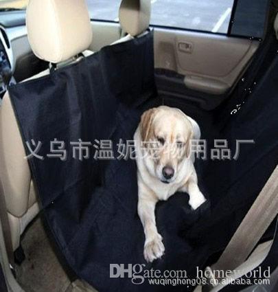 مهد الكلب سيارة الخلفي المقعد الخلفي غطاء pet حصيرة بطانية وسادة الأرجوحة حامي شحن مجاني