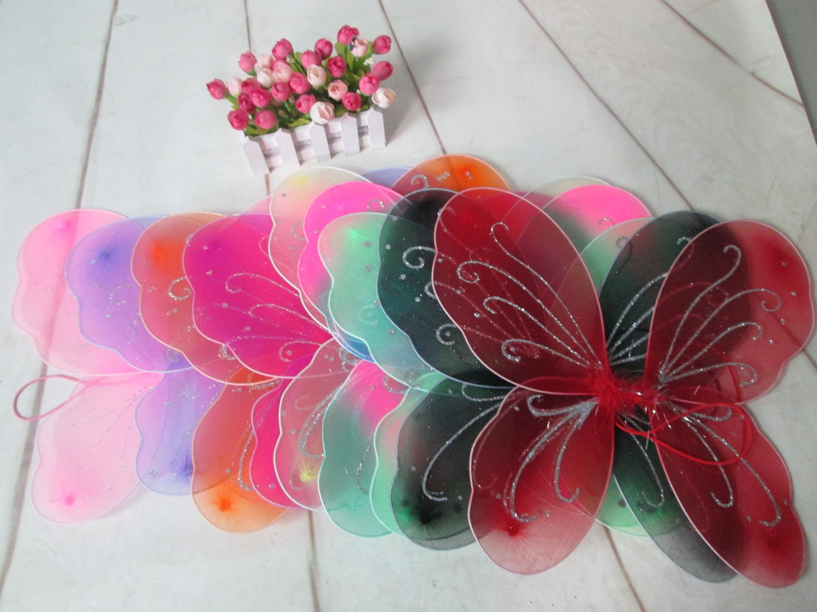 Halloween gilrls party angel wings cosplay butterfly wings princess performance props wings children Fancy customes by DHL