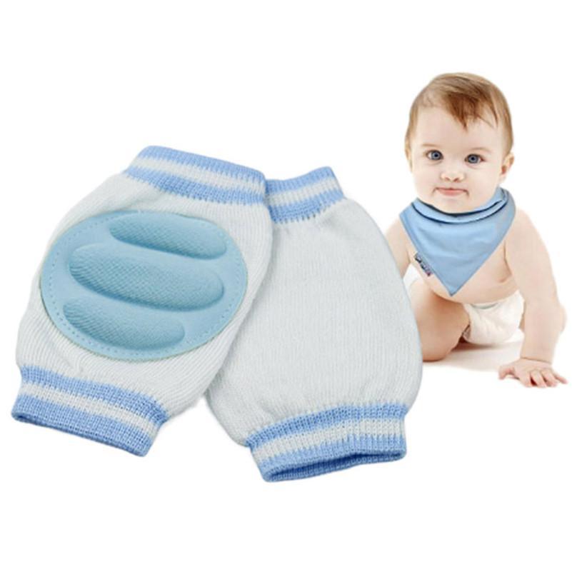2 пара 6 Цвет детские малыш безопасности сканирование Локоть подушки малышей наколенники протектор гетры коленной чашечки для новорожденных