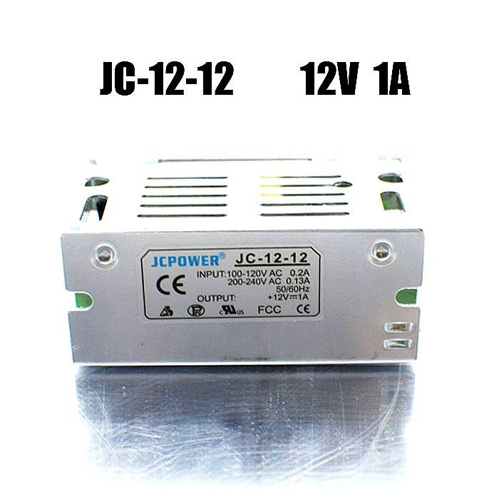 LEDストリップライトのBSODスイッチ電源ドライバ12V 1A 12W