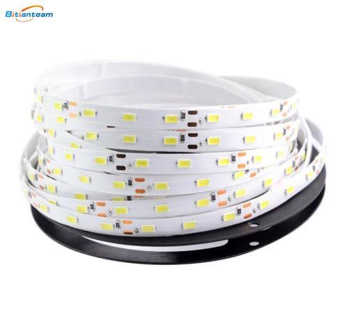 Foxanon luz de Tira CONDUZIDA 5630 DC12V 5 M 300led Flexível 5730 Bar Luz Super Brilho Não-impermeável Decoração de Casa Interior