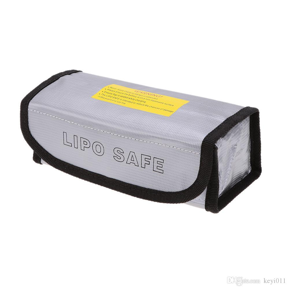 GoolRC Muiltifunction Lipo Battery A prueba de explosiones 185 * 75 * 60 mm Lipo Battery Protection Guard Bolsa de seguridad para LiPo de carga