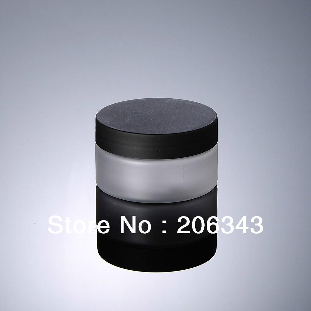 100 g botella de crema de PET helado, envase cosmético, tarro de crema, tarro cosmético, embalaje cosmético