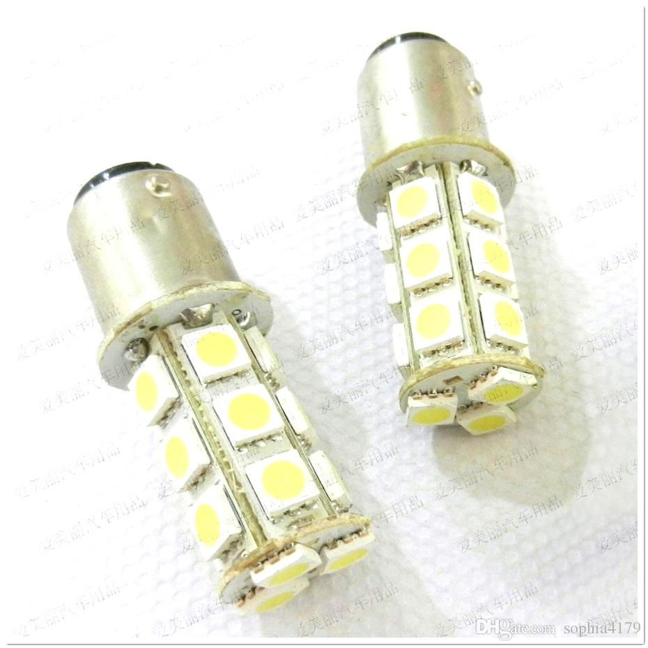 Promotion 10pcs 18 Led 5050 18SMD Ampoule De Sauvegarde De La Lumière De Sauvegarde De La Voiture Clignotants Ampoule