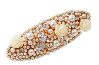 больше алмазов жемчужина цветок леди шпилька (400-cn)