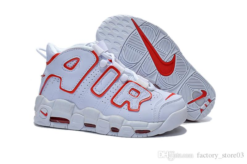 Großhandel Neu Eingetroffen Nike Air Weitere Uptempo Olympischen Scottie Pippen Frauen Basketball Schuh Nike Fashion Marke Sportschuhe Nike Air Max